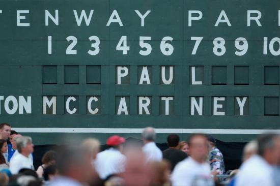 Green Monstah Scoreboard courtesy of The Boston Herald.